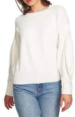 1.STATE Crewneck Blouson Sweater