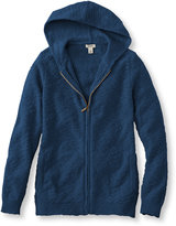 L.L. Bean Women's Textured Cotton Sweaters, Hoodie