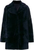 Drome panelled reversible coat