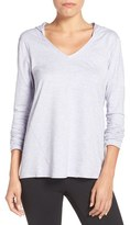 Zella Women's 'To & Fro' Hooded Pullover Tee