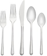 Cambridge Silversmiths Samantha Mirror 20-Piece Flatware Set
