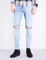 Represent Destroyer skinny stretch-denim jeans