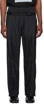 Maison Margiela Black Nylon Trousers
