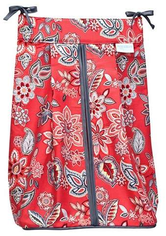 Trend Lab Red Flowers Diaper Stacker