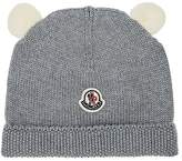 Moncler Virgin Wool Hat With Ears