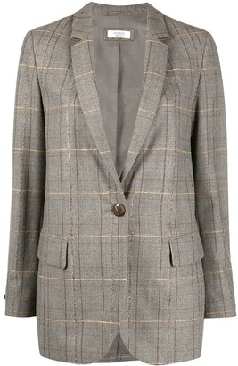 Peserico Wool Single Button Blazer