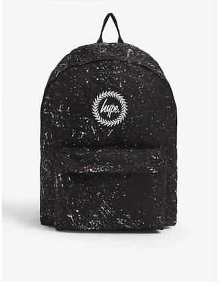 Hype Splat canvas backpack