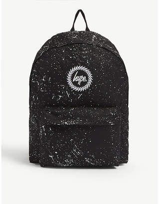 Hype Splat canvas backpack