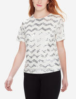 The Limited Chevron Sequin Tee