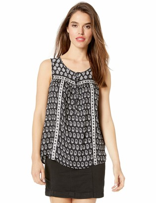 Lucky Brand Women's Lana Printed TOP