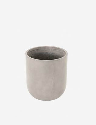 Lulu & Georgia Dena Indoor / Outdoor Round Planter, Grey
