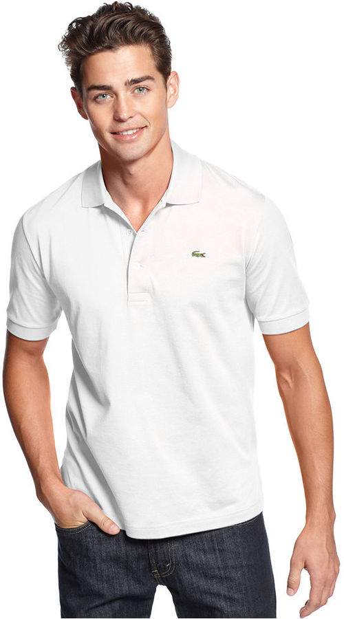 Lacoste Core Polo Shirt, Classic Fit Pima Solid Polo
