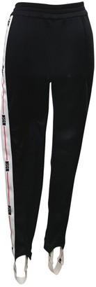 MSGM \N Black Spandex Trousers