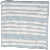 CoCalo Starlight Blue Stripe Chenille Blanket