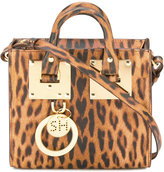 Sophie Hulme leopard print bag - women - Calf Leather - One Size
