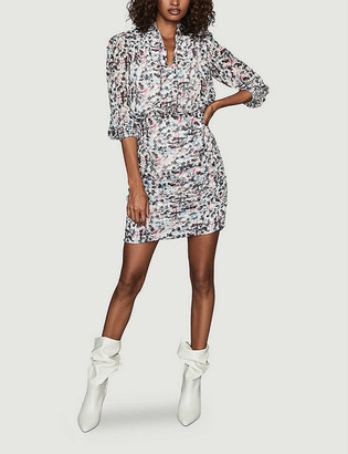 Reiss Dakota crepe mini dress