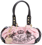 Juicy Couture embroidered logo tote