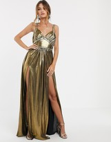 Bronx and Banco Bronx & Banco star metallic maxi dress