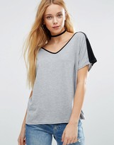 Daisy Street Color Block T-Shirt