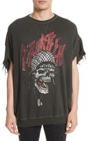 R 13 Men's Print Cutoff Sweatshirt