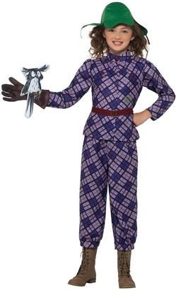 Child David Walliams Deluxe Awful Aunty Costume