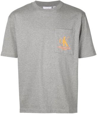 Calvin Klein Jeans Est. 1978 logo pocket T-shirt