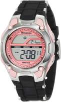 Armitron Women's 456984PNK Pink and Black Chronograph Digital Sport Watch