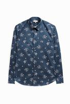 Paul & Joe Floral-Print Cotton Shirt