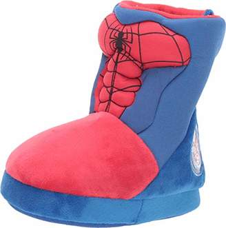 Favorite Characters Boy's Spiderman Slipper Boots (Toddler Small Size 5/6)