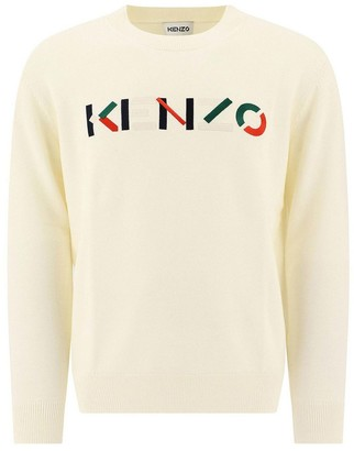 Kenzo Pullover With Embroidered Logo