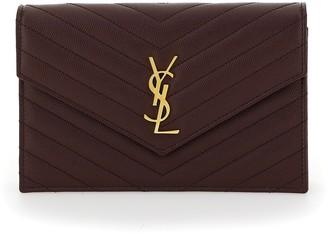 Saint Laurent Envelope Chain Clutch Bag