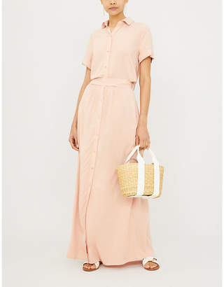 Melissa Odabash Naomi woven midi shirt dress
