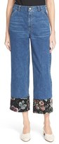 Rachel Comey Women's 'Fracture' Cropped Wide Leg Chinos