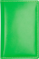 Comme des Garcons Wallets Green Super Fluo Card Holder