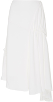 J.W.Anderson Asymmetric Ruched Skirt