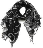 BB Floral Puffy Scarf
