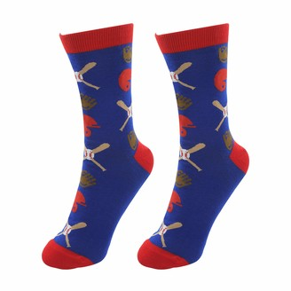 Pavilion Gift Company Baseball Life-Unisex Crew Cut Sport Socks