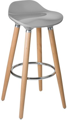 Premier Housewares Stockholm Bar Stool- Taupe