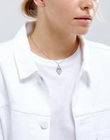 Asos Clean Cut Out Choker Necklace