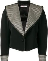Saint Laurent Pre Owned 1970's wide lapels jacket