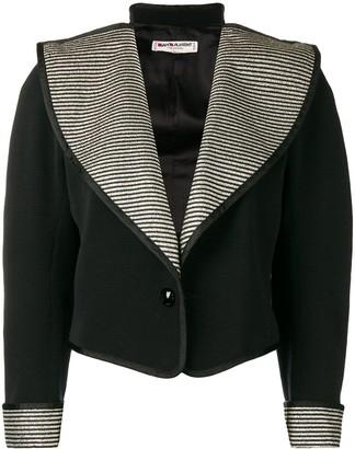 Saint Laurent Pre-Owned 1970's wide lapels jacket