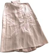Blumarine Purple Silk Skirt for Women Vintage