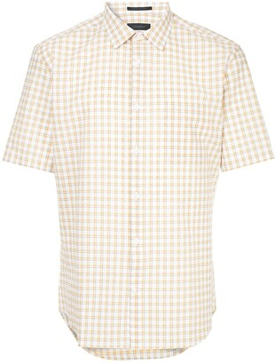 Durban D'urban short sleeved gingham shirt
