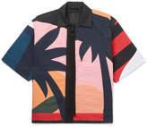 Craig Green Paradise Camp-Collar Quilted Cotton-Cloqué Shirt