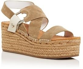 Rag & Bone Women's August Espadrille Wedge Platform Sandals