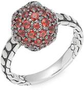John Hardy Women's Red Sapphire & Sterling Silver Ring