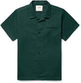 Noon Goons Slim-Fit Camp-Collar Cotton-Twill Shirt