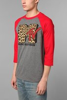 Urban Outfitters MTV Leopard Print Raglan Tee