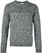 Valentino studded detail knit jumper