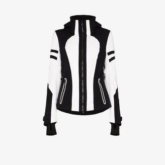 Bogner Womens Black Dalia-t Hooded Ski Jacket